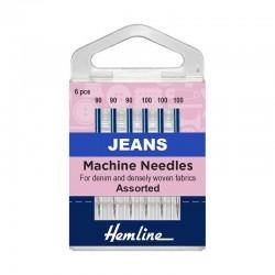 Hemline Machine Jeans...